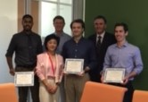 Award group photo